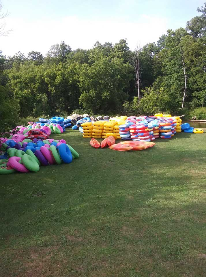 Rusell Canoe Rafts